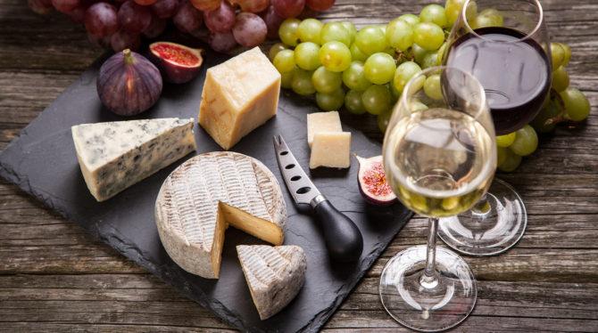 Virtual Cheese & Wine Tasting