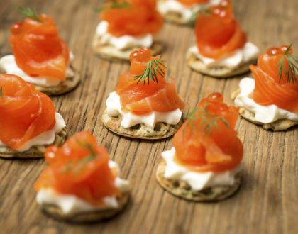 Virtual Canape Making