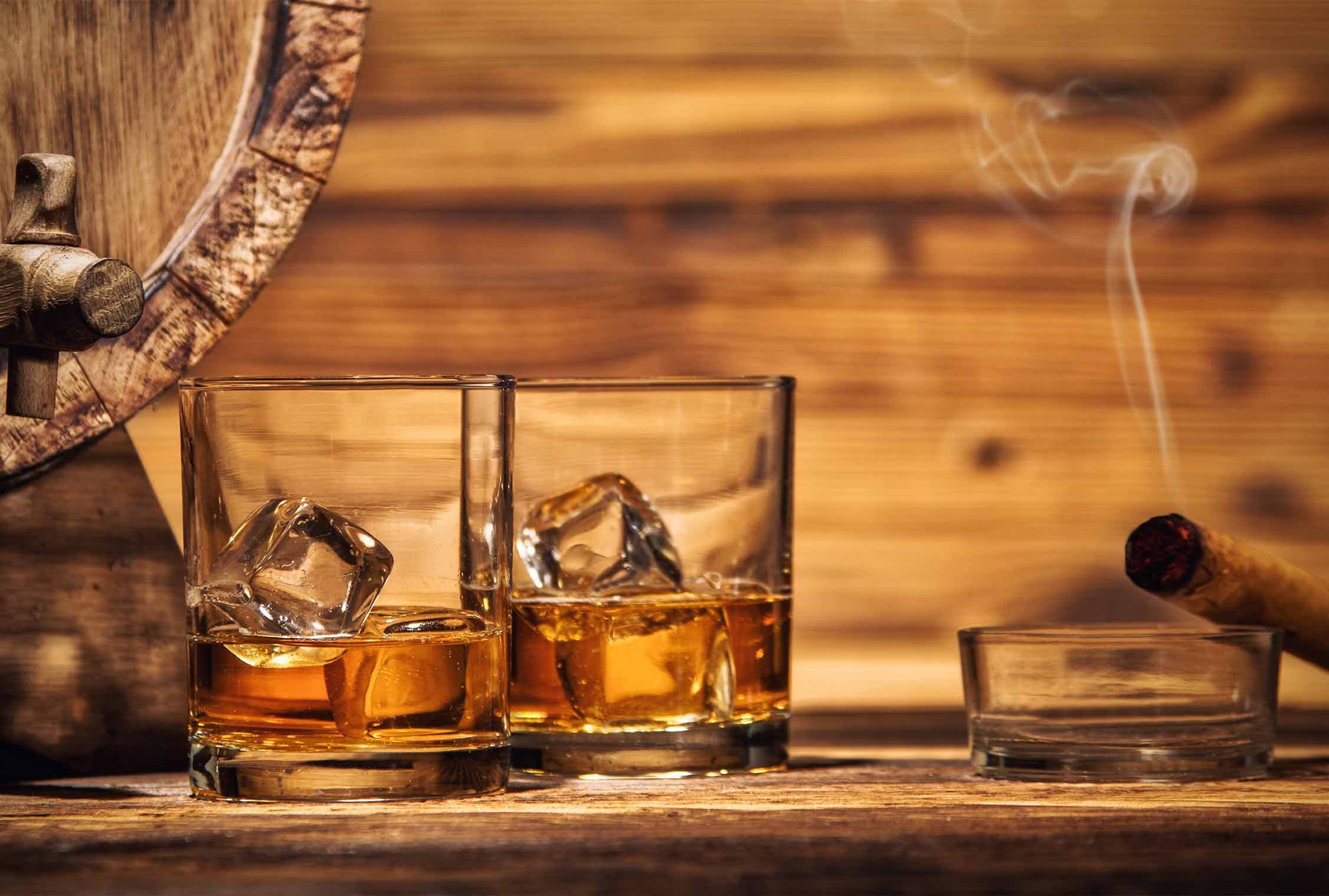 Whisky Tasting with Sharing Dishes for Two at the 5